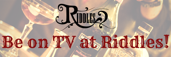 C4 are filming at Riddles tomorrow!