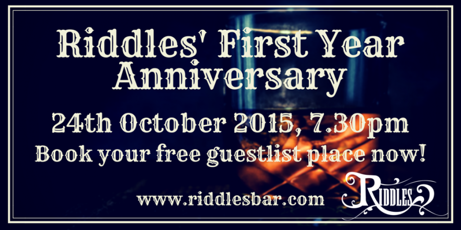 Celebrate with us for our One Year Anniversary!